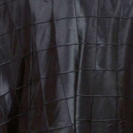 Pintuck Black