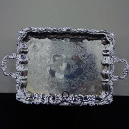 Tray, Chippendale Silver