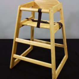 High Chair Wood