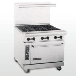 Range 6 Burner w/Oven
